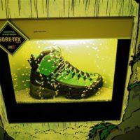 Gore Tex Schuhe richtig pflegen und sie bleiben  wasserdicht.   foto (c) kinderoutdoor.de