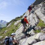 Klettersteig mit Kindern: In Galtür kraxelt die ganze Familie