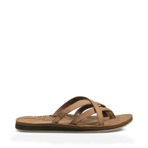 Teva Sandalen aus Leder: Die Olowahu Leather W´s sind richtige Hingucker. Foto (c) TEVA