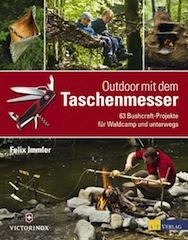 Kinder lernen schnitzen. Aus der Schweiz kommen die besten Taschenmesser und nette Bücher.  Foto (c) AT Verlag