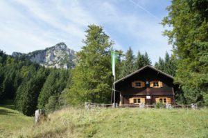 Familien freundliche Hütte in der Bleckenau: Die DAV Fritz Putz Hütte.  foto (c) kinderoutdoor.de