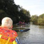 Kanutouren für die Familie: Weser, Wannsee und Tauber