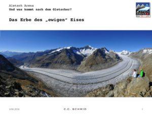 Wandern mit Kindern bringt alle zum Nachdenken: Der Aletschgletscher ist, vielleicht, noch in diesem Jahrhundert für immer verschwunden. Was kommt dann? Foto (c) Aletscharena.ch