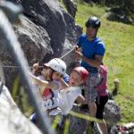 Klettersteig mit Kindern: Kursprogramm in Warth-Schröcken