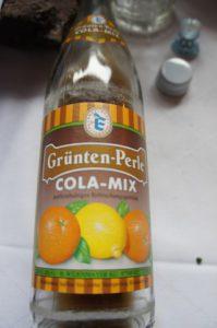 Cola-Mix im Test: Ein feines Tröpfchen das nur knapp am ersten Platz vorbeischrammte: Cola-Mix Grüntenperle. foto (c) kinderoutdoor.de
