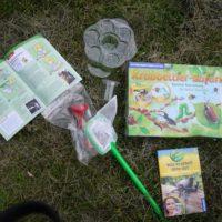 Der Kosmos Experimentierkasten Krabbeltier-Safarie bietet ein umfangreiches Forscherset für die Kinder.   Foto (c) kinderoutdoor.de