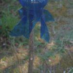 Windrad aus Plastikflaschen basteln: Rocketman dreht sich im Wind!