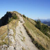 Wandern mit Kindern aufs Hochgrat (1.834 m). Dieser Gipfel ist der Höchste in der Nagelfluhkette.   foto (c) kinderoutdoor.de