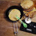 Primus Kocher Gravity und Kochset Litech Superset im Test: Pfannkuchen für alle!