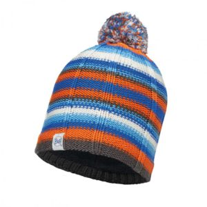 Cooler Look und Hightech: Buff bringt beides beim CHILD KNITTED & POLAR HAT BUFF® LAD BLUE zusammen.  foto (c) Buff