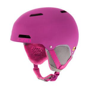 Giro Kinder Skihelm Giro Crue Mips: Cool, bequem und sicher. Damit sind die KInder auf der Piste gut unterwegs.  foto (c) giro
