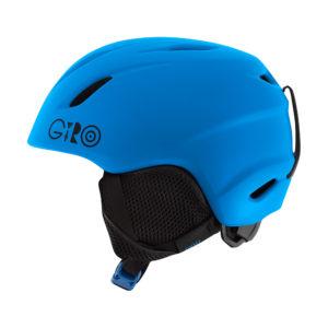 Giro Launch ein Kinderskihelm ohne Schnörkel aber mit viel Tragekomfort.  foto (c) giro