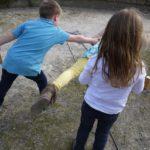 Kinder Schnitzeljagd ohne Sieger oder Verlierer: Einfach gemeinsam