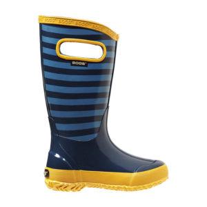 Rain boots stripes for ever: Bogs bietet den Kindern einen modischen Gummistiefel aus Naturkautschuk.  foto (c) bogsboots