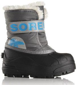Sorel Kinderschuhe für richtig kalte Winter: Der Snow Commander hält bis –25 °C warm. foto (c) sorel