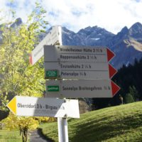 Mit dem Kinderwagen zum südlichsten Ort Deutschlands wandern.   foto (c) kinderoutdoor.de