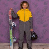 Maloja Malumpaz Kinderbekleidung für den Winter ist, wie die Fairviewu Jacke zeigt, für aktive Outdoorkids gedacht.   foto (c) malojy