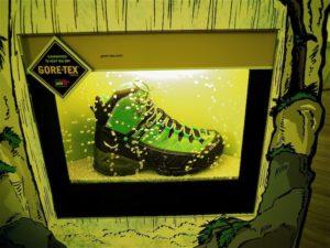GORE-TEX hält Schuhe und Outdoorbekleidung trocken.  foto (c) kinderoutdoor.de