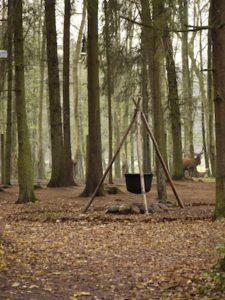 """Schnitzeljagd am Kindergeburtstag unter dem Motto """"Asterix udn Obelix"""". Wer findet den Druidenkessel? Foto (c) kinderoutdoor.de"""