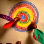 Basteln mit Eicheln: Ein tolles Dartspiel