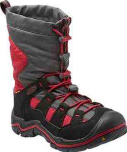 Diese Kinder Winterstiefel von Keen, haben ihre Wurzeln bei einer legendären Sandale. Rutschfest, warm und wasserdicht ist der Winterport II WP. foto (c) keenfootwear