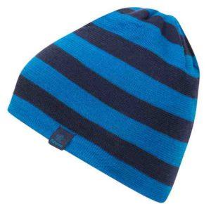 Wintermütze für Kinder von Bergans: Große Streifen für viel Wärme. Die Bergans Frost Kids Beanie ist ein ideales Frostschutzmittel. foto (c) Bergans
