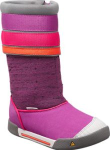 Keen Kinderschuhe sind etwas Besonderes: So wie der Encanto Madison Boot. Er bringt Farbe in die Übergangszeit.  foto (c) keenfootwear