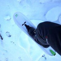 Kinderleicht bergauf: Mit den Crossblades in den verschneiten Bergen unterwegs.   foto (c) kinderoutdoor.de