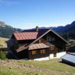 Familienfreundliche Berghütten: Die Schwarzwasserhütte ist ein ideales Basislager