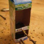 Basteln mit Kindern: Ein Vogelhaus aus Miltüten