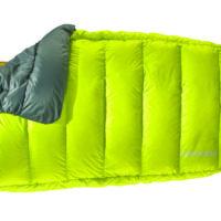 Therm-a-Rest Decke für Outdoorer: Die Corus HD Steppdecke wiegt wenig und bietet viel Schlafkomfort.   foto (c) therm-a-rest