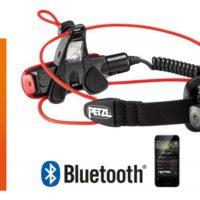 Petzl Nao + Stirnlampe. Ein geniales Teil für Outdoorer, Sportler und Bergsteiger. Es bleibt die Frage ob alles, was sich über eine App steuern lassen, auch gesteuert werden muss.....  foto (c) Petzl