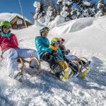Schneeschuhwandern, Rodeln, Winterwanderreiten und Fackelwandern am Katschberg