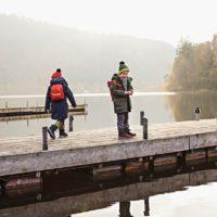 Kinderjacken von Vaude und der Herbst ist plötzlich nicht mehr so grau.  foto (c) vaude