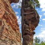 Wandern mit Kindern: Im deutschen Monument Valley unterwegs