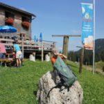 Mit Kindern auf Hütten übernachten: Rauf zur Alpe Gund!