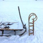 Rodeln mit Kindern: Auf zwei Kufen von der Frasdorfer Hütte runter