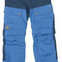 Kinder Outdoorhose Kids Keb Gaiter Trousers von Fjällräven: Die Hosenbeine lassen sich abzippen und die Hose ist aus  G-1000® Eco hergestellt.   foto (c) fjällräven