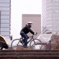 Mit dem Fahrrad und Fahrradanhänger fit ins Frühjahr: Wir haben Expertentipps für Euch worauf Ihr achten solltet.   foto (c) burley