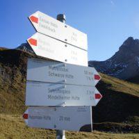 wandern familie alpen
