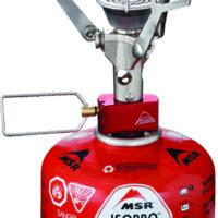 MSR PocketRocket, der superleichte Gaskocher bringt einen Liter Wasser in 3,5 min zum Kochen.  ©Earl Harper