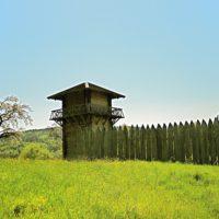 wandern mit Kindern am Limes: Auch Rekonstruktionen