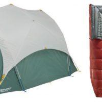 Therm-a-Rest Zelte  Tranquility sind ideal für Familien und bieten Platz für vier oder sechs Personen. Sie lassen sich in kurzer Zeit aufstellen und haben einen hohen Giebel an dem der Regen ablaufen kann.   foto (c) therm-a-rest