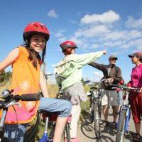 Fahrradtouren mit Kindern in Norddeutschland. In den Jugendherbergen kommt Ihr gut und günstig unter.   foto (c) Deutschen Jugendherbergswerk