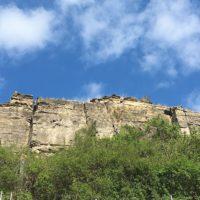 Seltene Tiere wie der Steinschmetzer haben sich in den Felsengärten angesiedelt.   foto (c) kinderoutdoor.de