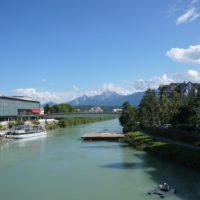 Dir Drau fließt gemütlich durch Villach und ist ideal für Einsteiger.   foto (c) kinderoutdoor.de