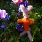 Trockenfilzen mit Kindern: Einen lustigen Osterhasen