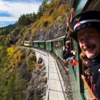 Die Kinderausfahrt mit der Rhätischen Eisenbahn ist für die Kleinen ein Erlebnis, an das sie sich noch lange erinnern.   foto (c) rhätische Eisenbahn