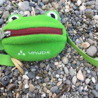 Mit dem Green Shape Label ist die Kinder Hüfttasche Flori von Vaude ausgezeichnet.  foto (c) kinderoutdoor.de