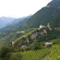wandern mit Kindern in Südtirol um das Schloss Tirol.  foto (c) kinderoutdoor.de